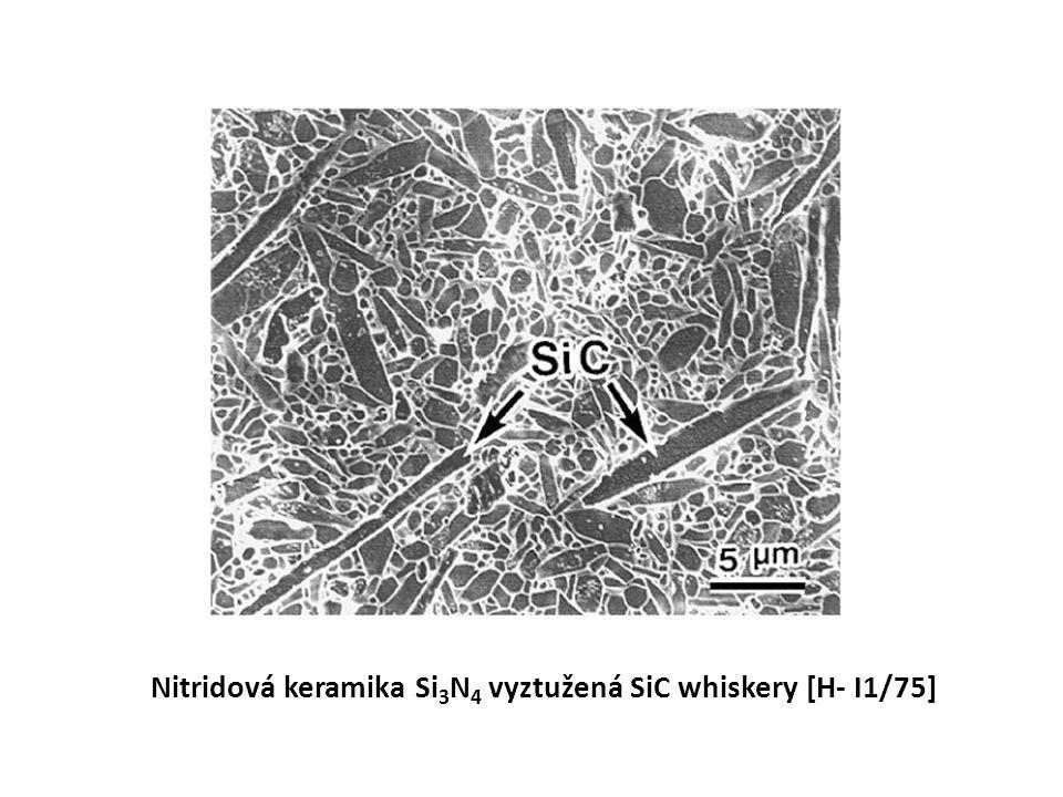 Nitridová keramika Si3N4 vyztužená SiC whiskery [H- I1/75]